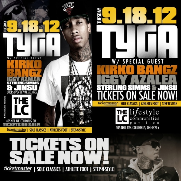 Tyga Performing Live at The LC