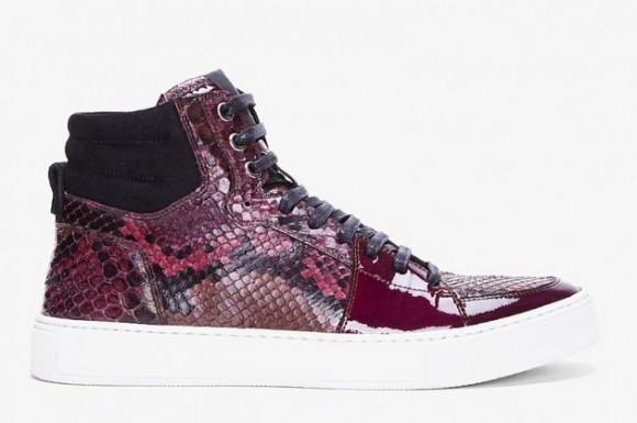 YSL Raspberry Python Malibu Sneaker