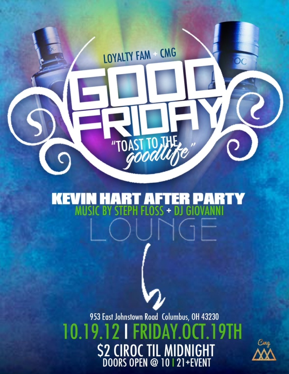 Kevin Hart AFTER PARTY AT Lounge62